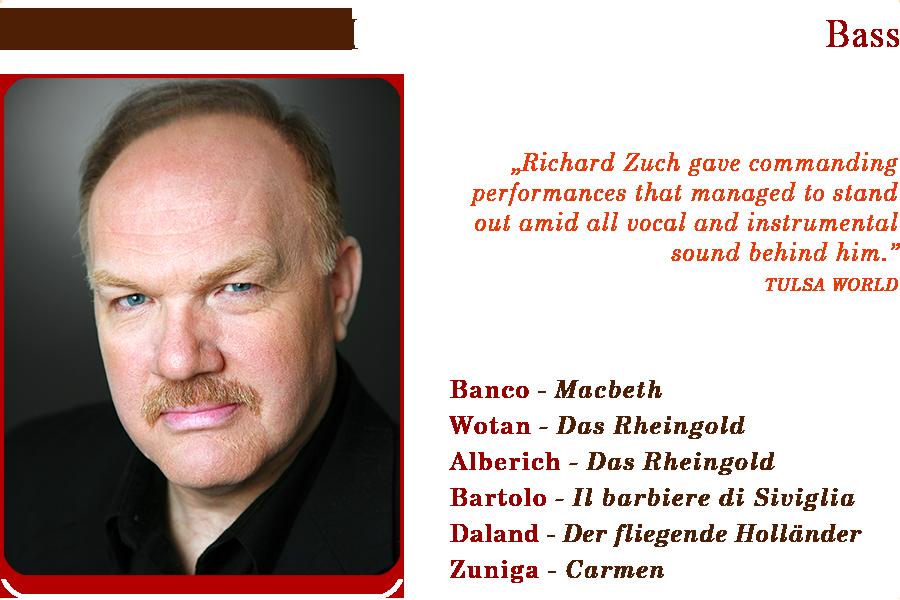 Richard Zuch Stephens Nicolson Artists Management